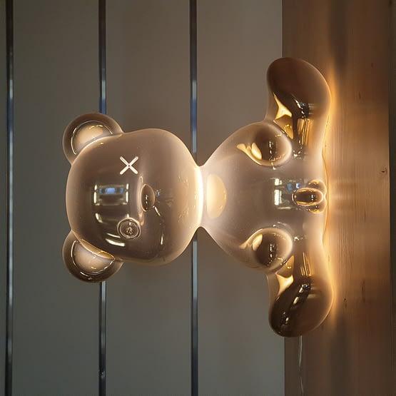 Lampe en Métal Teddy Boy qeeboo